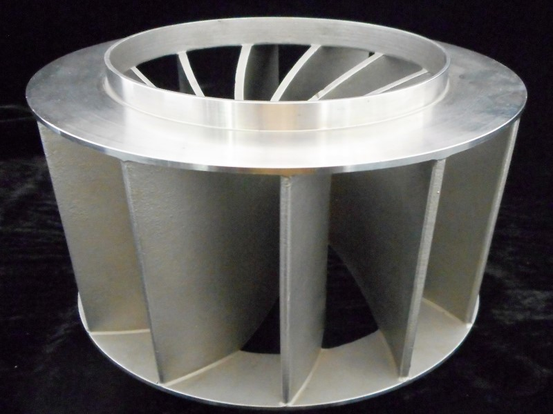 Del-Tek Investment Casting Impeller