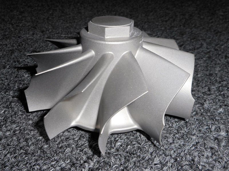 Del-Tek Investment Casting Turbine